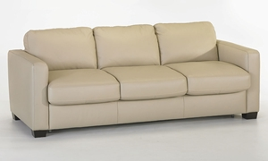 Picture of Natuzzi Cesare Top-Grain Track Arm Sleeper Sofa
