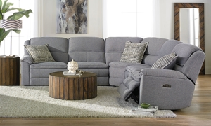 Picture of Triple Power Reclining Sectional with Power Headrest & USB