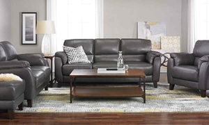 Picture of Violino Classico 3-Piece Leather Living Room