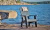 Picture of Grey Fade-Resistant Heavy-Duty Adirondack Chair
