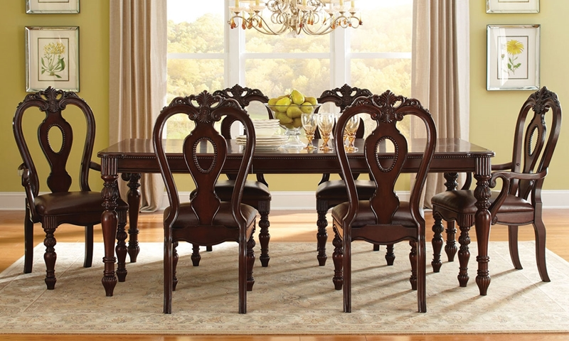 Picture Of Westchester 5 Piece Traditional Dining Set