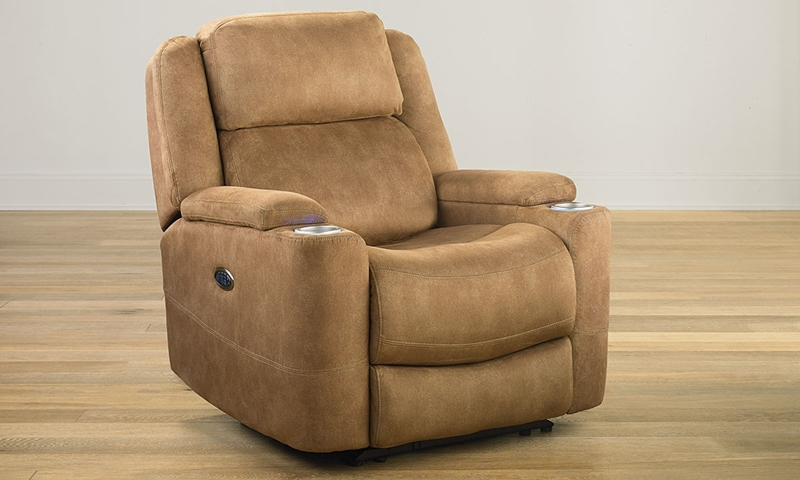 Power Recliner With Usb Amp Cooling Cup Holders Haynes