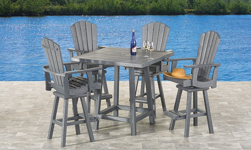 Generation Pub Height Outdoor Dining Set