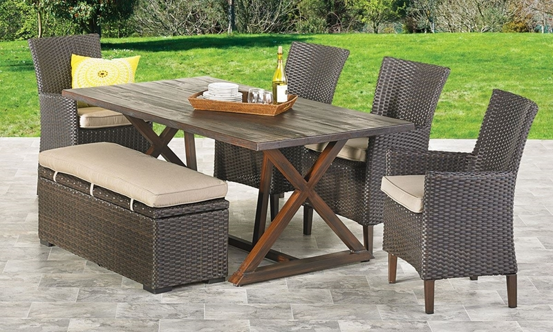 Copperhead 6 Piece Outdoor Dining Set