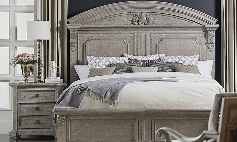 A.R.T. Architectural Salvage Queen Storage Bed