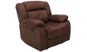 Tufted Deep Seat Recliner