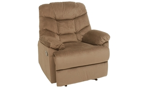 Sueded Space Saver Recliner