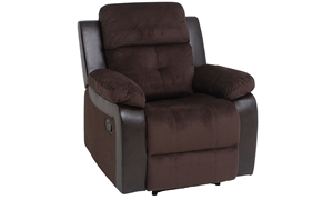 Two-Tone Contemporary Recliner