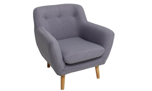 Tufted Mid-Century Modern Accent Chair