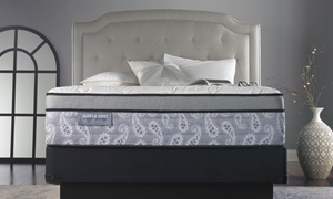 "James & Owen Paisley 13.5"" Hybrid Queen Mattress"