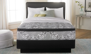 "Consumer Digest Platinum 13.5"" Euro Top Queen Mattress"