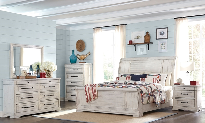 Trisha Yearwood Retreat Queen Sleigh Bedroom Haynes Furniture