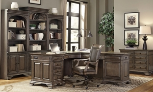 Aspenhome Arcadia Desk and Return