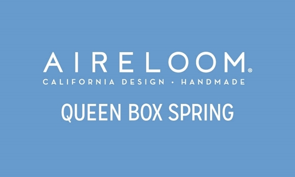 "Aireloom Swirl Queen 9"" Box Spring"