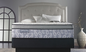 "James & Owen Paisley Hybrid 13.5"" King Mattress"