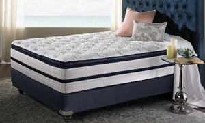 "iTwin Melodic Plush 14"" King Mattress"