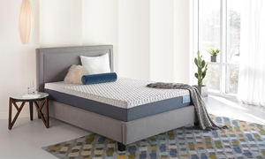 "iTwin Hi Tech Silhouette Gel Memory Foam 11.5"" Queen Mattress"