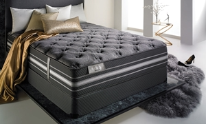 "iTwin Black Macklin Hybrid 14.5"" King Mattress"