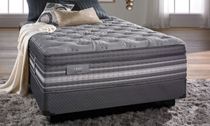 "iTwin Black Natalie Hybrid 14.5"" King Mattress"