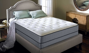 Full mattress infused with a soft breathable high density air flow foam for increased comfort and temperature regulation. Shop Haynes Furniture Virginia!