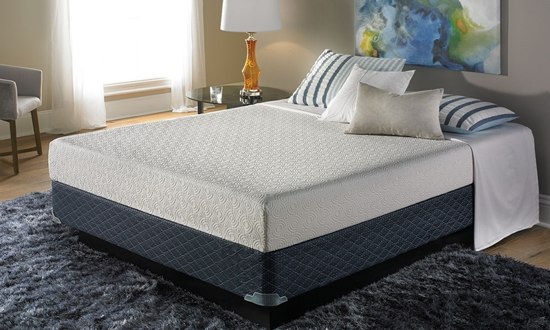 "Enso Allure Gel Memory Foam 8"" King Mattress"