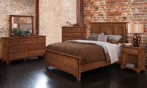 Conrad Grebel Linwood Handmade King Panel Bedroom