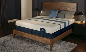 "Serta iComfort® Blue 300 Memory Foam 11.25"" King Mattress"