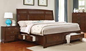 Parkhurst Reeded King Storage Bed
