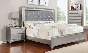 Marilyn Glam Upholstered King Bed