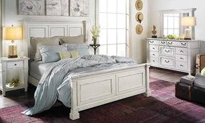 Stoney Creek Coastal King Panel Bedroom