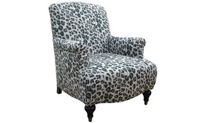 Jazmin Printed Club Chair