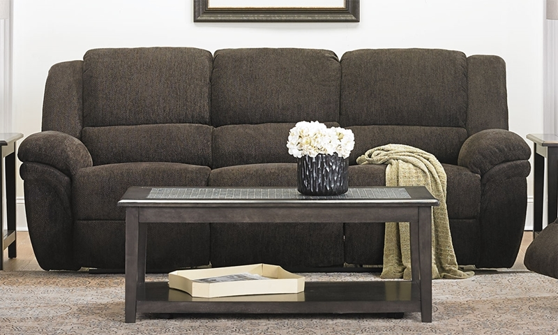 Picture Of 92 Inch Dual Reclining Sofa