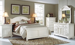 Cottage Traditions King Panel Bedroom