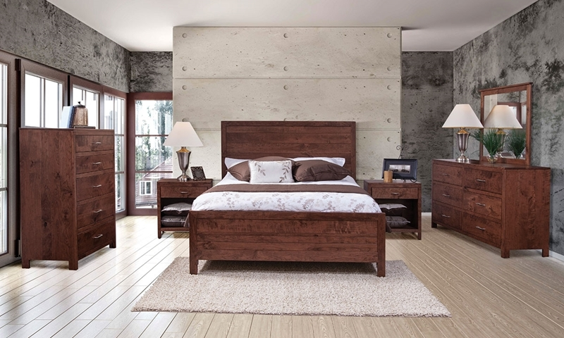 Resonate Handmade King Panel Bedroom Set | Haynes Furniture