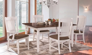 Resonate by Conrad Grebel Huntington Handmade 7-Piece Dining Set