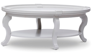 Chateau Vintage Oval Cocktail Table