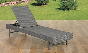 St. Kitts All-Weather Wicker Outdoor Chaise Lounge
