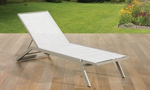 St. Croix Contemporary Outdoor Chaise Lounge