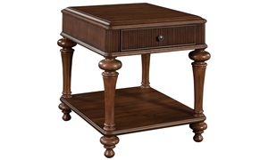 Broyhill Cascade Traditional Storage End Table