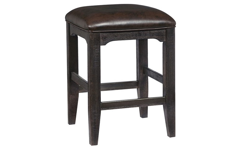 Oozlefinch Collection Bernard Stout Brown Counter Height Stool