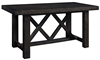Oozlefinch Annabel Stout Brown 72-inch Counter Height Table