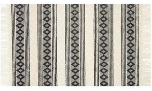 Magnolia Home Holloway Hand Woven Ivory & Black 8X10 Rug