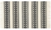 Magnolia Home Holloway Hand Woven Ivory & Black 5X8 Rug