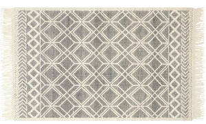 Magnolia Home Holloway Hand Woven Black & Ivory 8X10 Rug