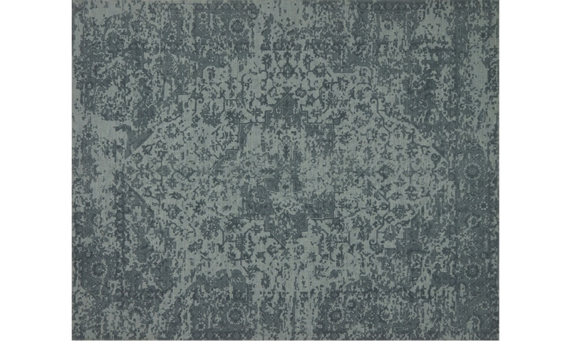 Magnolia Home Lily Park Wool Teal 5X8 Rug