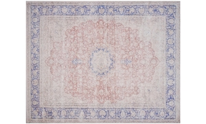 Magnolia Home Lucca Terracotta & Blue 5X8 Rug