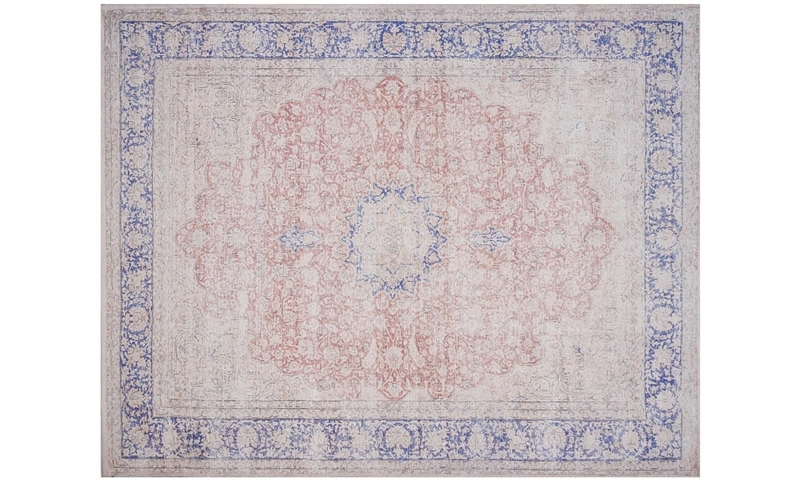 Magnolia Home Lucca Terracotta & Blue 8X10 Rug