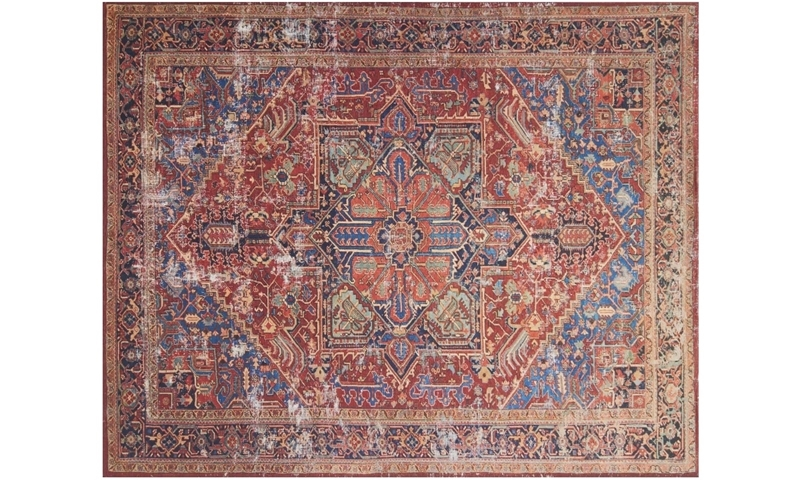 Magnolia Home Lucca Red & Blue 8X10 Rug