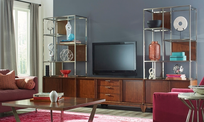 Pleasing Klaussner Simply Urban 3 Piece Contemporary Wall Unit Download Free Architecture Designs Grimeyleaguecom