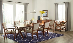 Klaussner Simply Urban Complete Dining Set